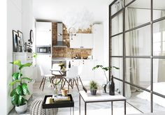 Studio apartments are such a good source of interior design inspiration – the ideas found in these space conscious designs often come in useful outside of the