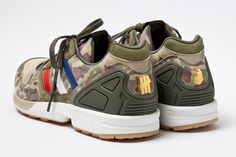 A Bathing Ape x Undefeated x adidas Originals Consortium ZX 5000 Further Look