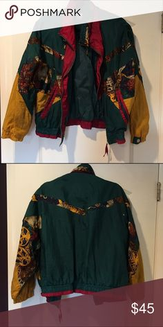 Vintage Windbreaker Lovely vintage 70's windbreaker that can add some vintage spice to any outfit!! Not sure of brand so I'm putting a different brand for exposure Vintage Jackets & Coats