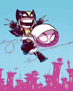 Wolverine Annual Baby Variant - Skottie Young