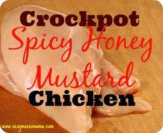 SexyMoxieMama-Crockpot-Spicy-Honey-Mustard-Chicken