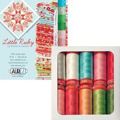Aurifil - Little Ruby By Bonnie & Camille (small spools)