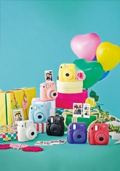 Colorful Fujifilm Instax Mini 8 Instant Camera - gifts for tween girls