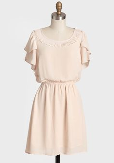 Simple Beauty Collared Dress, it's such a lovely colored feminine dress Vintage Outfits, Vintage Dresses, Vintage Fashion, Modern Vintage Dress, Vintage Inspired Dresses, Simple Dresses, Cute Dresses, Beautiful Dresses, Feminine Dress