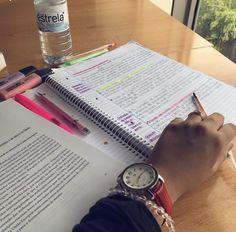 School Goals, School Study Tips, Studyblr, Study Pictures, Study Pics, College Notes, Study Organization, Pretty Notes, Study Hard