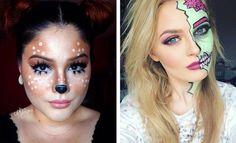 21 Easy DIY Halloween Makeup Looks   StayGlam