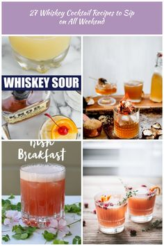 This Whiskey Sour Recipe is the ultimate classic whiskey cocktail recipe! It's delicious, easy to put together, and needs to be a part of your life! Whiskey Cocktails