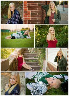 Amanda Nelson | Class of 2017 | Senior Girl Pose Ideas | Nebraska | August | Cheerleader | Outdoors | Natural Light | Laura C. Photography 2016