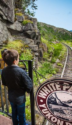"Skagway, Alaska. Not just another train ride! Take the unforgettable journey aboard the ""Scenic Railway of the World"" and travel to the summit of the White Pass - a 2,865-foot elevation."