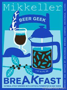 Mikkeller - Beer Geek breakfast Stout