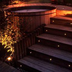 Balizador escada externa