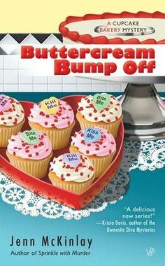 I loved her books: 1-Sprinkle with Murder 2-Buttercream Bump Off 3-Death by the Dozen 4- Red Velvet Revenge. This series is so good I can hardly wait for the next one to be published.