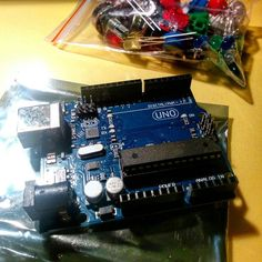 #arduino #digital #analog #learning #fun finalmente si impara anche con Arduino :) by massimopietrasanta
