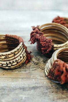 Bracelet | Vintage Shell Bangles