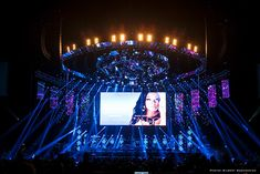 2014 BET Experience Concert at the Staples Center. Visions Lighting of Brea, CA created a lighting design. 64 Nexus 4x4 LED panels from CHAUVET Professional. http://livedesignonline.com/nexus-diamonds-add-glitz-bet-experience-concert