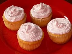 Quick and Easy Raspberry Frosted and Filled Cupcakes