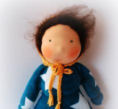Puppen - Stoffpuppe nach Waldorfart Immertreu - ein Designerstück von Immertreu bei DaWanda