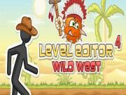 As a crazy buff of the stickman in the Level Editor series you will never want to overlook Level Editor 4 right? Play it for fun now! Come on! Themed by a fun gameplay just like its previous chapters you're currently asked to continue exploring the expedition of the stickman through the Wild West. What mainly to do here?