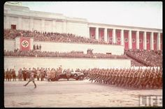 Nuremberg 1938 Nuremberg Rally, Betty Boop Pictures, The Third Reich, Photo Colour, Color, World War Two, Munich, Wwii, Dolores Park