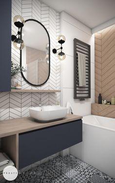 Bathroom Design Luxury, Modern Bathroom Decor, Modern Bathroom Design, Laundry In Bathroom, Small Bathroom, Lavatory Design, Bathroom Design Inspiration, Beautiful Bathrooms, Bathroom Renovations