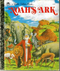 Vintage Noah's Ark A Little Golden Book by ShopHereVintage on Etsy