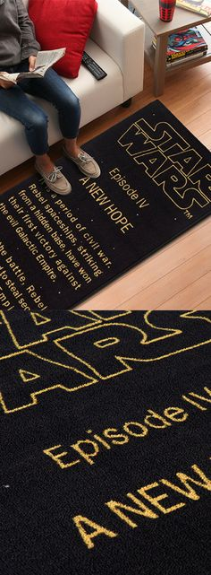 Star Wars Floor Rug - Star Wars Gifts #starwars #rug #home
