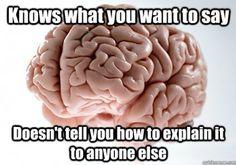Asshole brain