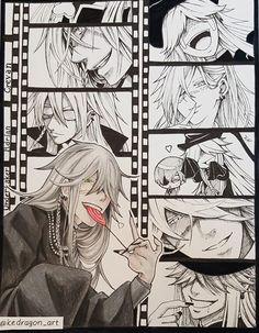 Undertaker's Scenematografie #undertaker #blackbutler #blackbutlerundertaker #animeart #anime #drawing #kuroshitsuji