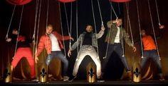 The Wanted al estilo de NSYNC y BSB en el clip de Walks Like Rihanna