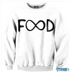 a9900101a Infinity Food sweater from Freshtops Cute Tops, Cute Fashion, Fashion  Outfits, Nerd Fashion
