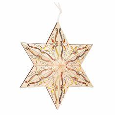 Schöner #Adventsstern aus #Holz - Wundervolle #Dekoration zur #Adventszeit ...