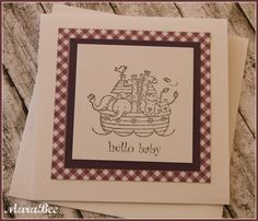 Simple Baby-Card!