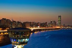 View from cafe at Dongjak Bridge, Seoul Korea by SJ.Kim---WHA?! I want to go here!!!!