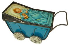British Biscuit Tins - Imagine what a little girl would do with this tin.......If she could wrest it from my greedy hands.
