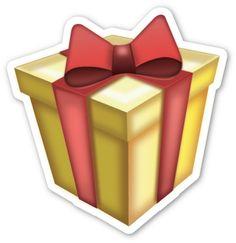 Wrapped Present | EmojiStickers.com