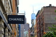 Part 2 of the Lady Bears Guide to New York features the best places to eat and shop in Soho! Chanel http://www.lifeofaladybear.com/2014/09/lady-bears-travel-guide-to-soho.html