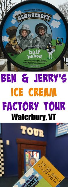 Ben and Jerry's Ice Cream Factory Tour Review