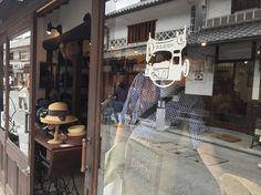 Hat shop.