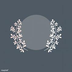 Pink Glitter Background, Logo Background, Happy Jar, Wedding Invitation Background, Simple Line Drawings, Wreath Drawing, Floral Logo, Laurel Wreath, Lettering Tutorial