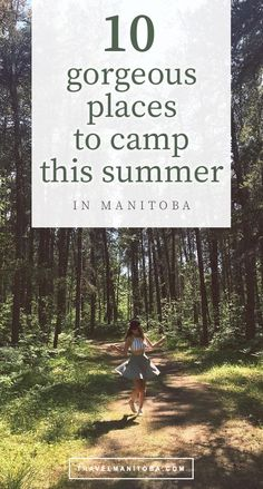 10 gorgeous places to camp this summer in Manitoba Places To Travel, Places To Go, Canadian Prairies, Northern Lights Tours, Best Campgrounds, Canadian Travel, Canoe And Kayak, Explore Travel, Day Hike