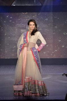 Indian bridal lehnga by Manish Malhotra. Click through for more.