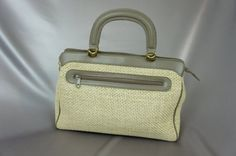 Mint vintage bag Contessa handbag genuine leather by PurseFancy