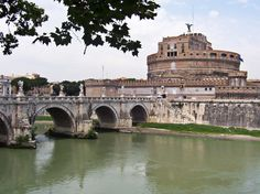 One of my most memorable days was spent in this place. I think the most beautiful view of Rome is from that rectangular opening facing the river. It is engraved in my mind for all time.  Castle Sant Angelo.