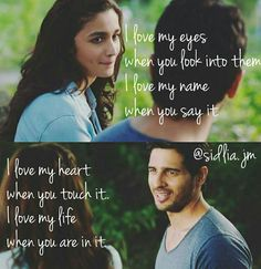 That's so sweet na :) larke hi sweet bane hote :l Movie Love Quotes, Best Love Quotes, Romantic Love Quotes, Hero Quotes, Typed Quotes, Life Quotes, Actor Quotes, Crush Quotes, Bollywood Movie Songs