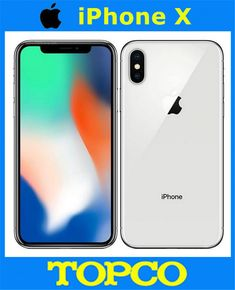 Apple iPhone X Factory Unlocked Original Mobile Phone US version LTE Car Bluetooth, Bluetooth Headphones, Shipping Packaging, Free Online Shopping, Buy Apple, Apple Iphone, Core, The Originals, Mobile Phones