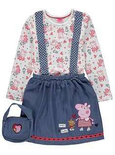 Peppa Pig 3 Piece Outfit, read reviews and buy online at George at ASDA. Shop from our latest range in Kids. Your little one will be ready for a day of adven...