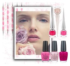 """""""Pink Nails"""" by whimisical76 ❤ liked on Polyvore featuring beauty, Shany, OPI, Christian Louboutin and Pink"""