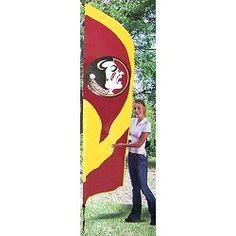 8.5ft Tall Team Flag with Seminole Head