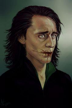 Loki- Wish I knew the artist. This is breathtaking....