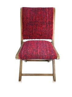 nuLOOM Sari Silk Folding Chair